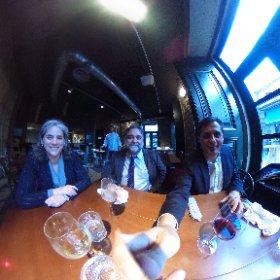 Comida  de fin de fiesta de #innoBBaccion con @fgallardo y @iffe disfrutando de la gastronomía gallega #theta360