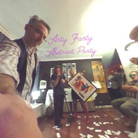 Another amazing Arty Farty Party. Thanks Eileen & Ryan :) #theta360