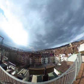 #Sunday afternoon - #zurich #switzerland #rooftop #360 #vr #theta360