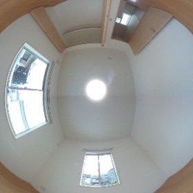 福岡町一戸建て3LDK新築 2階東洋室 #theta360