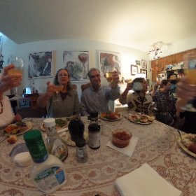 A Happy Thanksgiving, indeed! #theta360