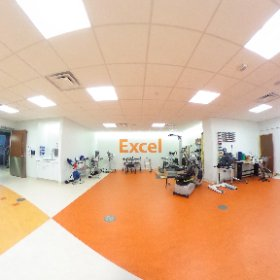 3rd floor #rehabilitation gym with latest #technology for our patients. #theta360