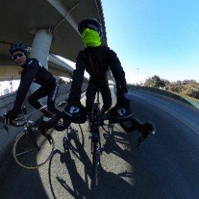 jingmilu #cycling #china #theta360