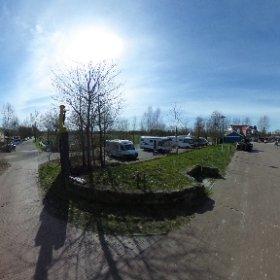 Erholung Gebiet am Sportbootshafen in Weener #theta360 #theta360de