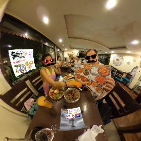 Barcelona Gaudi Restaurant is a bona fide spanish Tapas menu in Suk Soi 23 Bangkok, boutique size on three levels including front courtyard, come and try lunches and diner, SM hub https://goo.gl/EcAJYG   #Fireflies3d #theta360