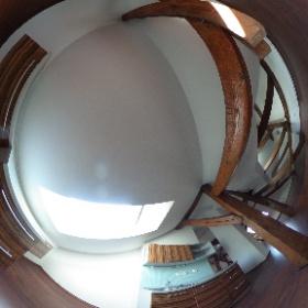 Přívozská 949/12, Levý pohled kuch.linka- místnost 2 / 3.podlaží #theta360