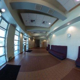 Pacifica High School - performing arts center entrance