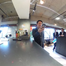春のChatWork東京オフィス見学ツアー #sakura3d #theta360