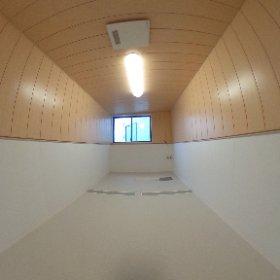 岐阜県一宮市に設置した2.4m x 4.7mの介護施設用特注ユニットバス #theta360