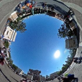 陽射しの眩しいウォーターフロントパーク。ニューヨーク市民の憩いの場所です。 #TDR全天球画像 #theta360