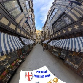 360 spherical London Court historical tudor England themed arcade in Perth CBD, built 1937, SM hub https://linkfox.io/VerbW BEST HASHTAGS  #LondonCourtPerth  #PerthCity  #VisitPerthWA   #Butterfly3d #WaTourism  #WaAchiever #theta360