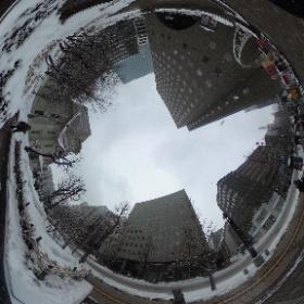 札幌市時計台 #まるちゃん写真集  #まるちゃん北海道旅行 #theta360