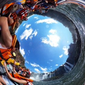 Iguaco waterfalls #theta360 #theta360de