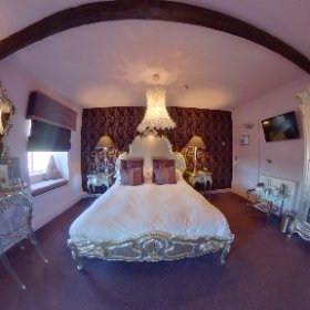 Room 6, Grassington House. An award-winning restaurant with rooms in the heart of the Yorkshire Dales. #restaurant #rooms #hotel #grassington #yorkshiredales #thedales #theta360 #theta360uk