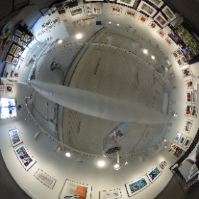 "Betsy Phillips' show named ""Urban Alchemy"" at Image City Photography Gallery in Rochester, NY. #theta360"