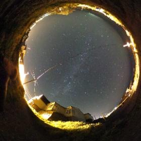 利尻島で見た星空 Stars @ Rishiri Island #theta360