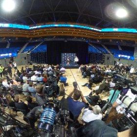 360 image @MichaelPhelps presser @TeamUSA media summit. @NBCLA  #theta360