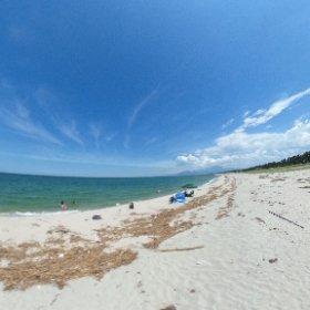 海のある生活。 僕はどこから撮影しているでしょう? #theta360