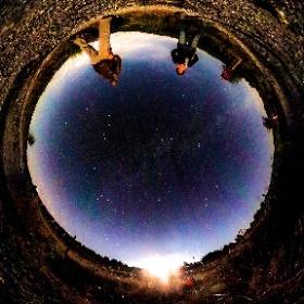 sotto l'#infinito. #stelle # cielo # notte # night #stars #star #estrellas #theta360 #theta360it