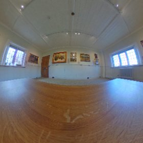 19th century room at Ashmolean Mesuem Broadway in the Cotswolds  taken 23rd October 2016. #theta360 #theta360uk