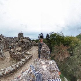 Moorish Castle in #sintra #portugal #theta360