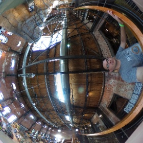 At the famous REI store. #theta360