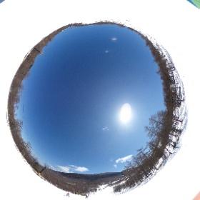 Asama ski #4 #theta360