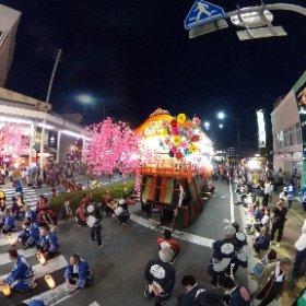 2018日高火防祭②(岩手県奥州市) #theta360