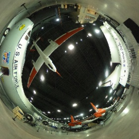 Hanoi Taxi and Space Shuttle ready for visitors @AFmuseum #theta360