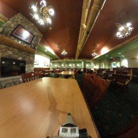 Johns Ultimate Pizza Las Vegas Cabin Room. #theta360