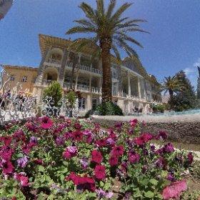 Eram Garden Shiraz Iran #theta360