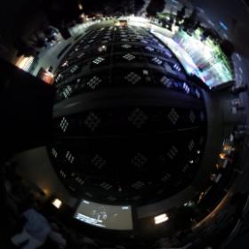 ニコンのイベント会場内〜 #theta360