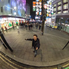 Happy in Leicester square 😄 #theta360 #theta360it
