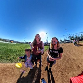 Easter in the Park, we ran into THE KID!  #theta360