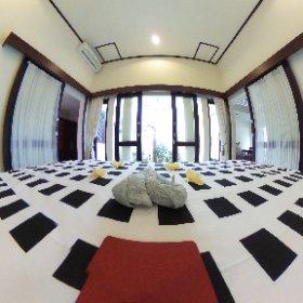 Praschinta Bali. Accommodation in Sanur. #theta360
