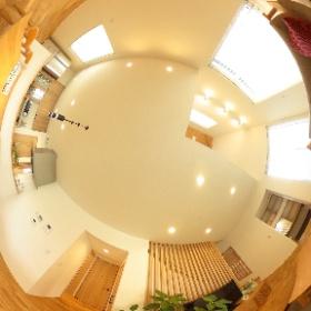 富山市婦中の展示場の様子。富山県内で家づくりをさせていただいてます、鷹栖建工(タカノスケンコウ)です!よろしくお願いします。HPも見てみてニャ🐈 https://www.takanosukk.com #theta360