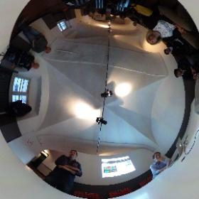 Open Genova riunione operativa su strumenti di collaborazione. www.opengenova.org #theta360