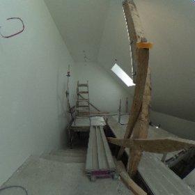 Neues Treppenhaus Dachgeschoss #theta360de