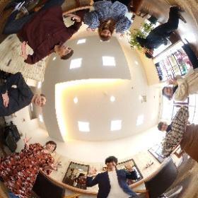 高知県四万十市にある美容室「ガイダンスリフレ」様のウェブサイト撮影 #theta360