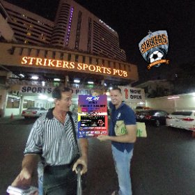 Strikers Sports Pub on Suk Soi 4, opposite famous Nana Plaza, SM hub http://goo.gl/54Ab7E BEST HASHTAGS #StrikersSportsPub  #BkkBarSports   #firefly3d