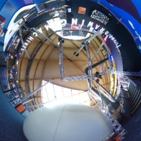 Giant Drawing Machines at Maker Faire 2015, Centre For Life, Newcastle #theta360