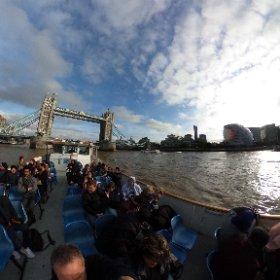 Thames river cruise #theta360 #theta360uk