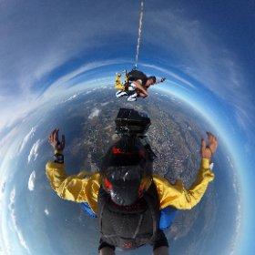 360 tande skydive @ para club wiener neustadt