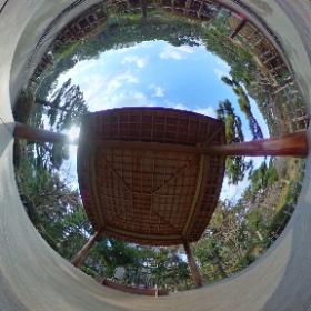 縮景園360° グリグリできる方、お試しください(≧∇≦)  #theta360