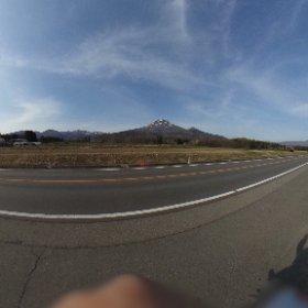 磐梯山です、もっと大きく撮りたいけどコレで限界でした(^^;; #theta360