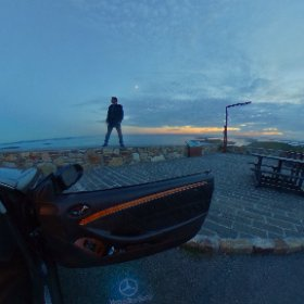 At the dusk on the Sky Road of The Ireland's Wild Atlantic Way in Clifden, Galway on 8th July 2019 #Galway2020 #CraicInGalway #360Today #wildatlanticway #firefly3d #theta360 #theta360uk