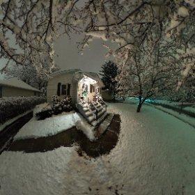 Winter Wonderland #snow3d #theta360