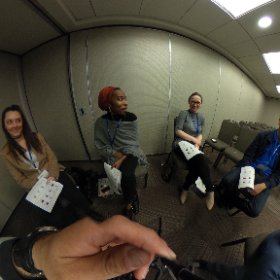 Meet my #VRJournalism workshop crew at #ACP360