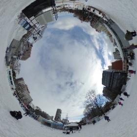 360°カメラでミクさん(撮影へたくそ) #theta360