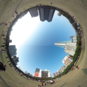 Nice weather 360 degrees !